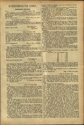 Handelingen van de Raad 1889-01-07