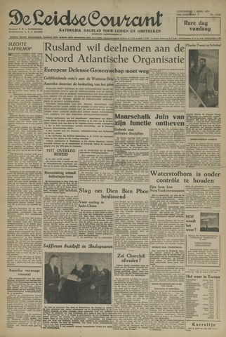 Leidse Courant 1954-04-01