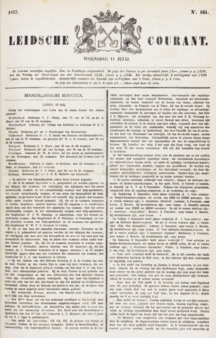 Leydse Courant 1877-07-11