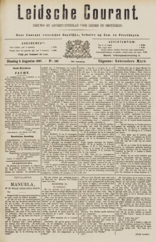 Leydse Courant 1887-08-09
