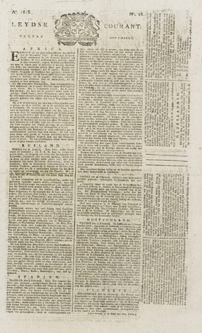 Leydse Courant 1818-03-06