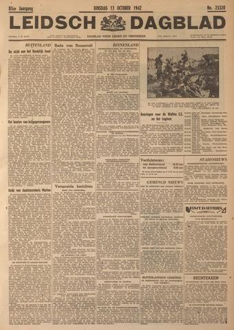 Leidsch Dagblad 1942-10-13