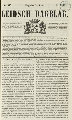 Leidsch Dagblad 1863-03-24