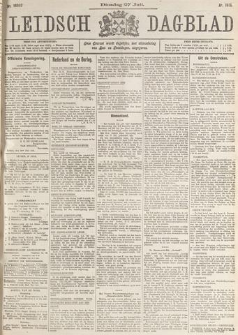 Leidsch Dagblad 1915-07-27