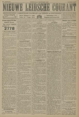 Nieuwe Leidsche Courant 1927-09-08