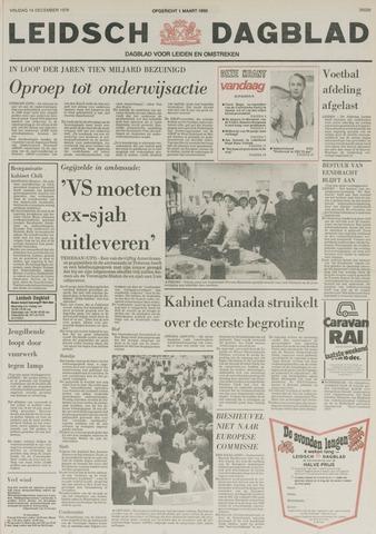 Leidsch Dagblad 1979-12-14