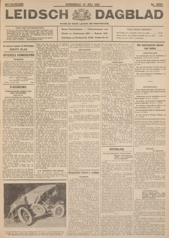Leidsch Dagblad 1928-07-19