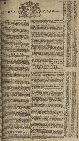 Leydse Courant 1760-10-31