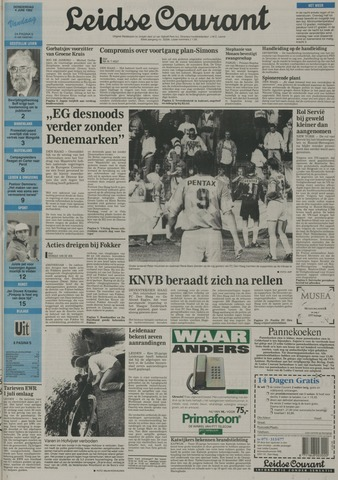 Leidse Courant 1992-06-04