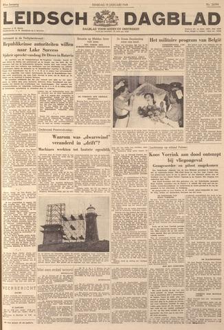 Leidsch Dagblad 1949-01-18