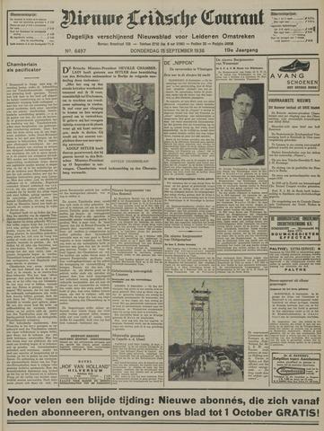 Nieuwe Leidsche Courant 1938-09-15