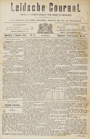 Leydse Courant 1889-01-07