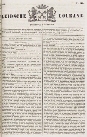 Leydse Courant 1875-09-09