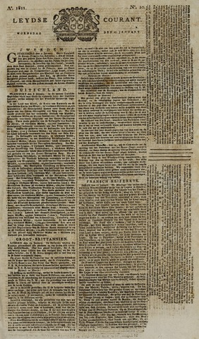 Leydse Courant 1811-01-23