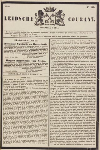 Leydse Courant 1884-07-09