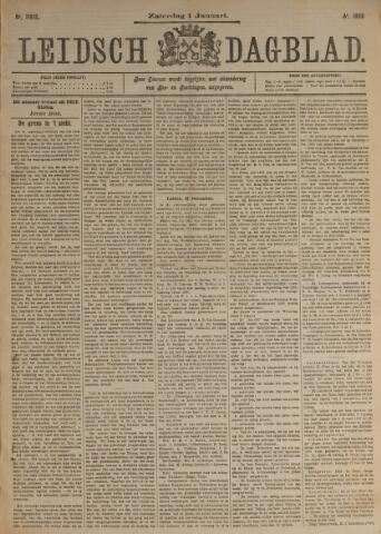 Leidsch Dagblad 1898