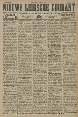 Nieuwe Leidsche Courant 1927-01-10