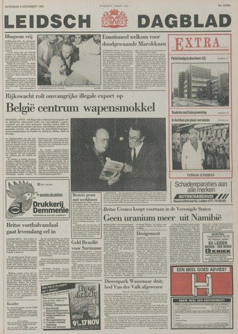 Leidsch Dagblad 1985-11-09