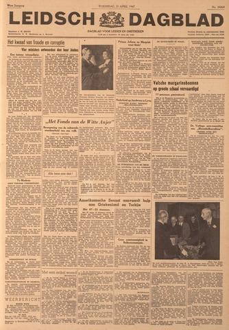 Leidsch Dagblad 1947-04-23