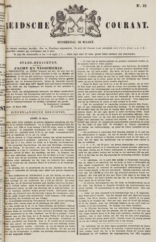 Leydse Courant 1885-03-26
