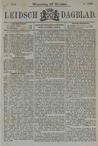 Leidsch Dagblad 1880-10-27