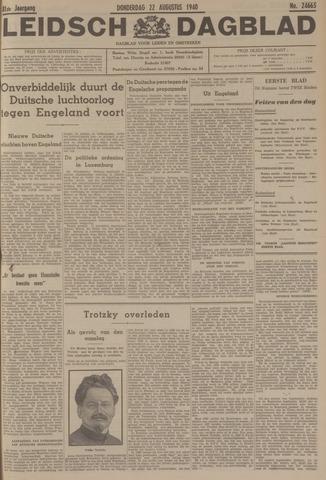 Leidsch Dagblad 1940-08-22