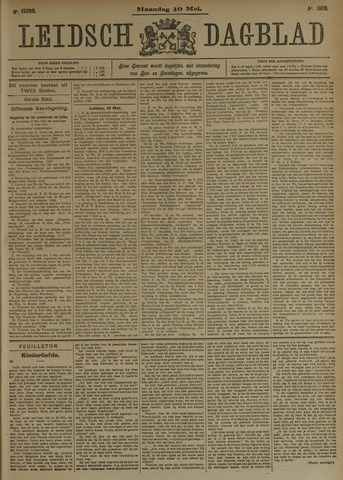 Leidsch Dagblad 1909-05-10