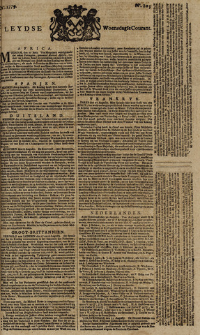 Leydse Courant 1779-09-01