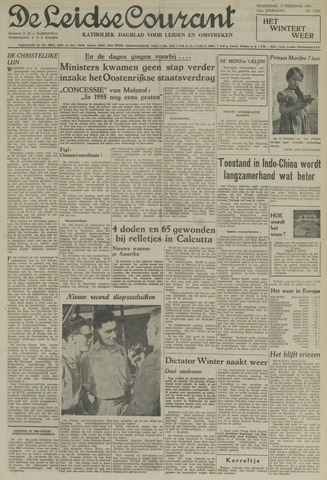 Leidse Courant 1954-02-17