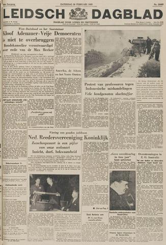 Leidsch Dagblad 1955-02-26