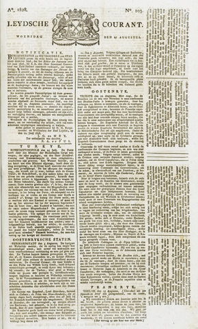 Leydse Courant 1828-08-27