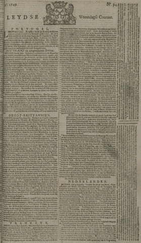 Leydse Courant 1749-08-06