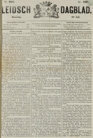 Leidsch Dagblad 1868-07-20