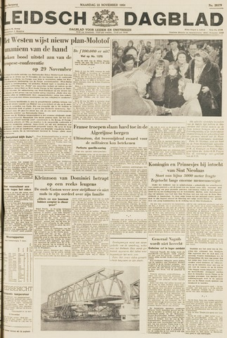 Leidsch Dagblad 1954-11-22