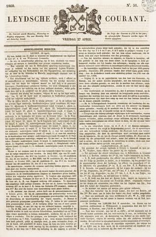 Leydse Courant 1860-04-27