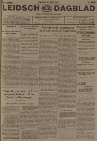 Leidsch Dagblad 1940-04-17