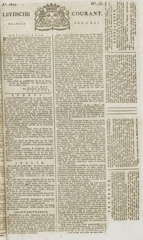 Leydse Courant 1825-05-16