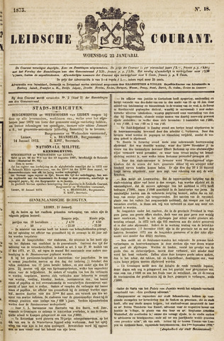 Leydse Courant 1873-01-22