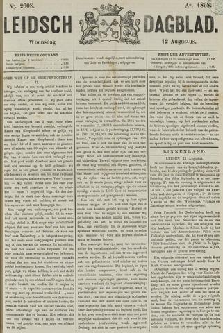 Leidsch Dagblad 1868-08-12