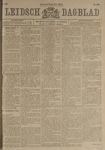 Leidsch Dagblad 1907-05-30