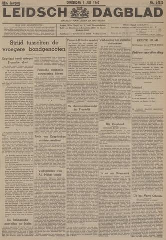 Leidsch Dagblad 1940-07-04