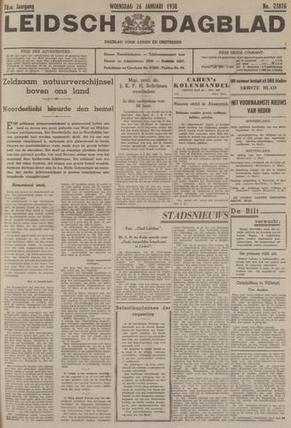 Leidsch Dagblad 1938-01-26