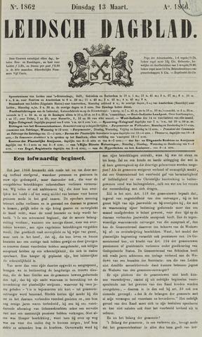 Leidsch Dagblad 1866-03-13
