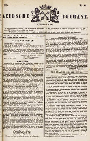 Leydse Courant 1883-05-02