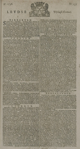 Leydse Courant 1736-11-02