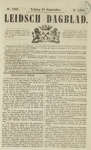 Leidsch Dagblad 1863-09-11