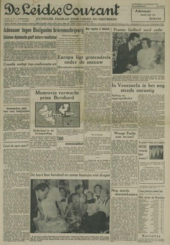 Leidse Courant 1958-01-22