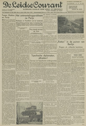 Leidse Courant 1949-11-12