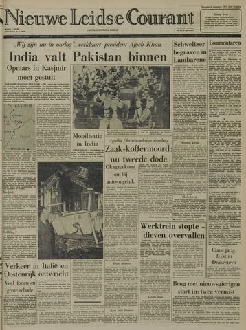 Nieuwe Leidsche Courant 1965-09-06