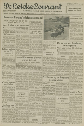 Leidse Courant 1951-06-07
